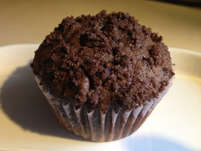 mexican hot chocolate muffin from cocos confections