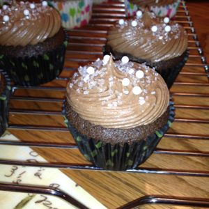 photo of a chocolate cupcake cocos confections