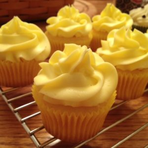 photo of lemonade cupcakes from cocos confections