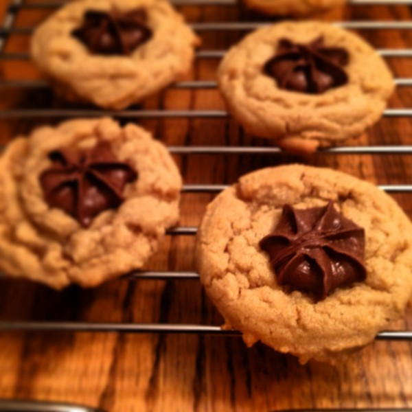 peanut butter blossoms cookies from cocos confections