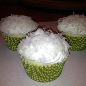 photo of coconut cupcakes from cocos confections