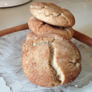 snickerdoodle cookies from cocos confections