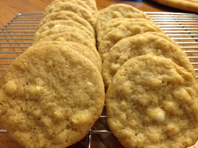White Chocolate Macadamia Cookies from cocos confections