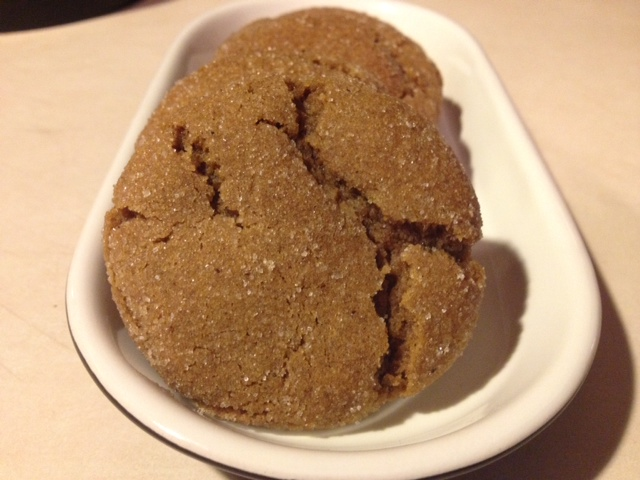 molasses sugar cookies from cocos confections