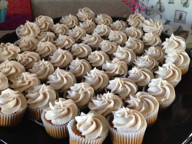 photo of pumpkin cupcakes from cocos confections