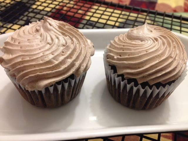 photo of mocha cupcakes from cocos confections
