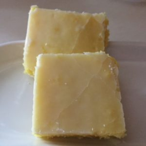lemon brownies from cocos confections