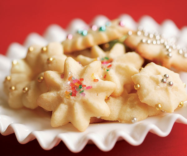 photo of almond spritz cookies from cocos confections
