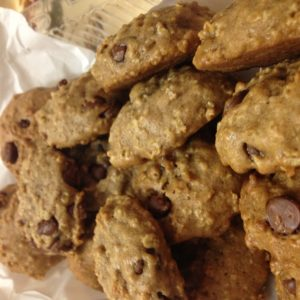pumpkin chocolate chip cookies from cocos confections