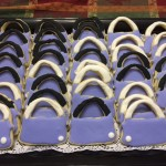 iced cutout purse cookies from cocos confections